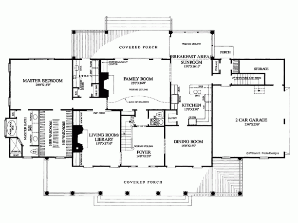 Custom Home Layout Design
