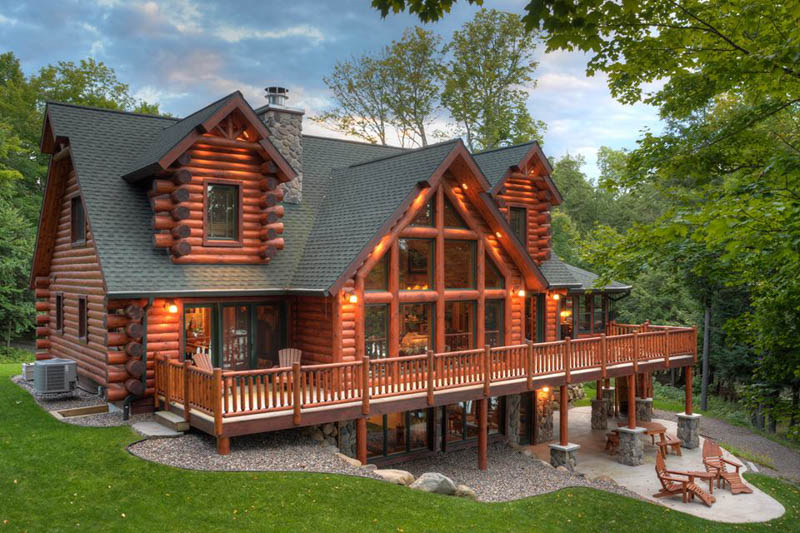 Best Log Home Builders In The United States Custom Home